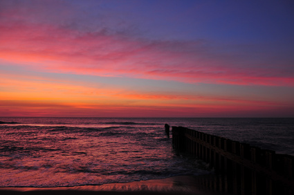 Sunrise-on-Cape-Hatteras-National-seashore-beach