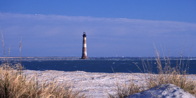 SC-Historic-Morris-Island-lighthouse-Folley-Beach-Charleston
